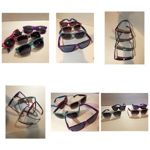 Accessories - Purple, red, pink, blue adult sunglasses